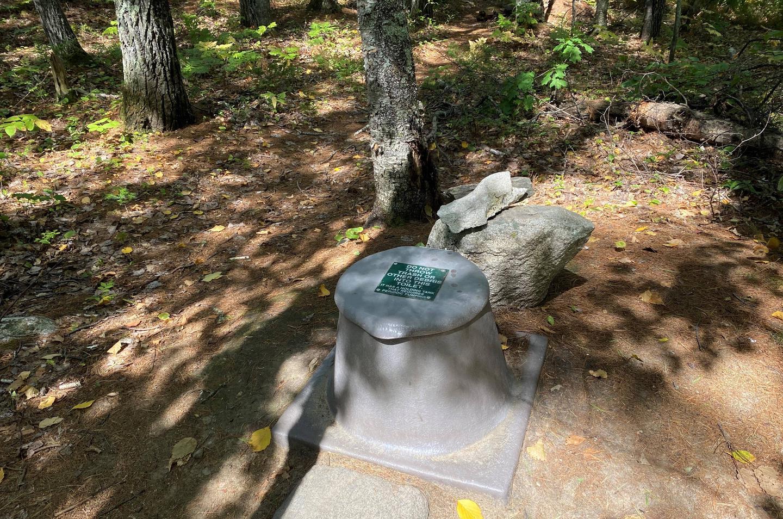 Privy at Big Island campsite
