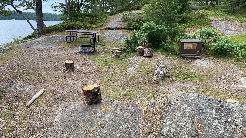 Campsite core area