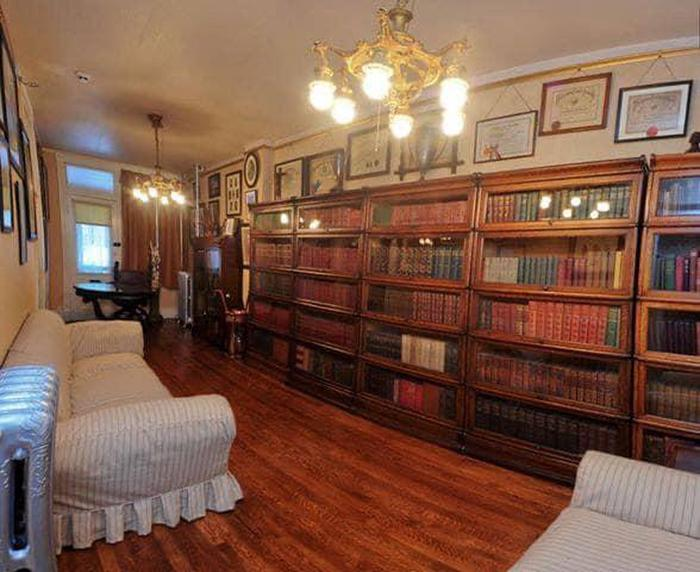 The Library of the Walker HouseThe Library served as both a relaxing place and a work place for Mrs. Walker