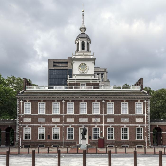 Independence HallKnown as the birthplace of the United States, Independence Hall houses the room where the Declaration of Independence and U.S. Constitution were both signed.
