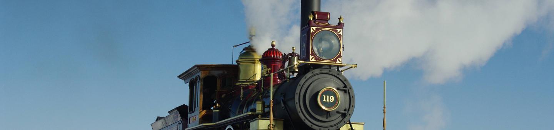 Steam LocomotiveGolden Spike National Historical Park - Union Pacific Steam Locomotive 119