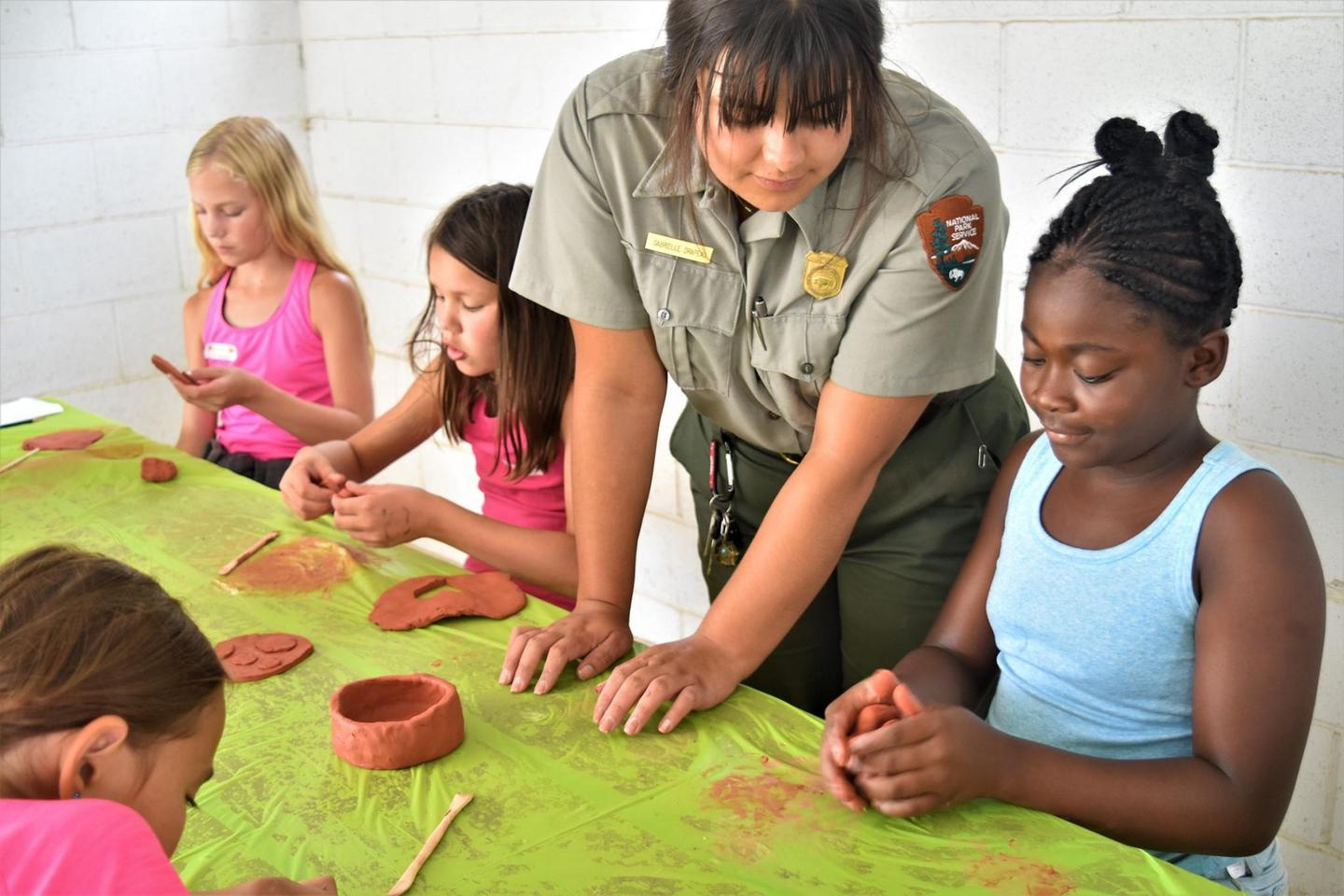 Jr. Ranger Camp ProgramsKids have opportunities throughout the summer for hands-on activities
