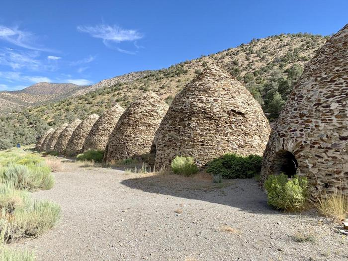 Wildrose Charcoal KilnsNearly a century and a half old, these are some of the best preserved kilns in the western U.S.