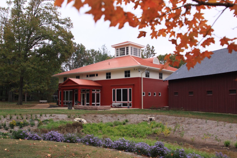 Visitor Center and Rain GardenVisitor Center and rain garden