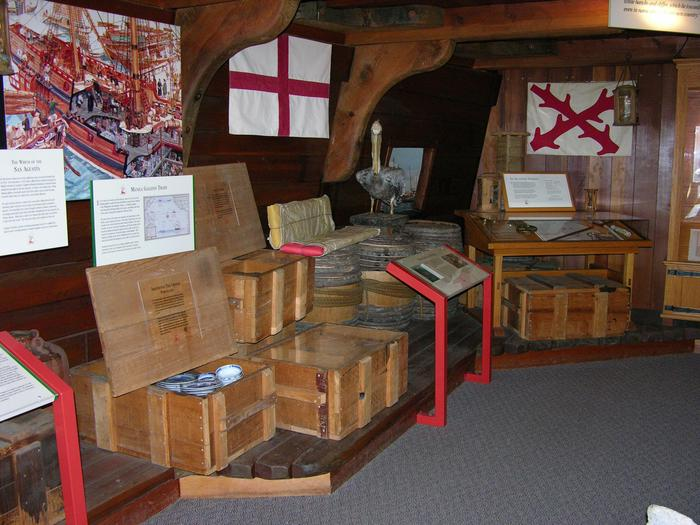 Kenneth C. Patrick Visitor Center: Maritime History ExhibitLearn about early European explorers and traders.