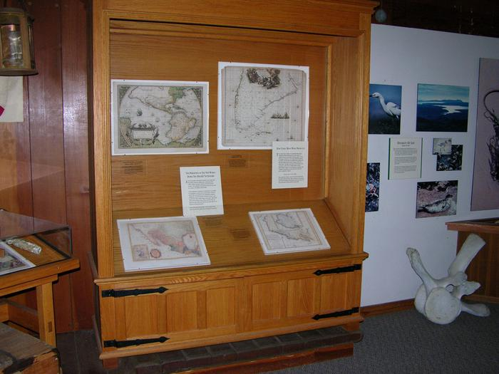 Kenneth C. Patrick Visitor Center: Historic Maps ExhibitExamine reproductions of maps of California drawn by Europeans in the 1500s and 1600s.
