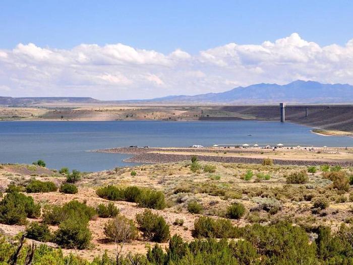 View of Cochiti Lake plains surrounding the lakeCochiti Lake View