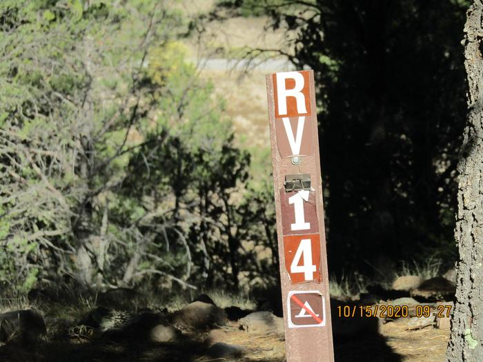 RV site #14RV camping site #14