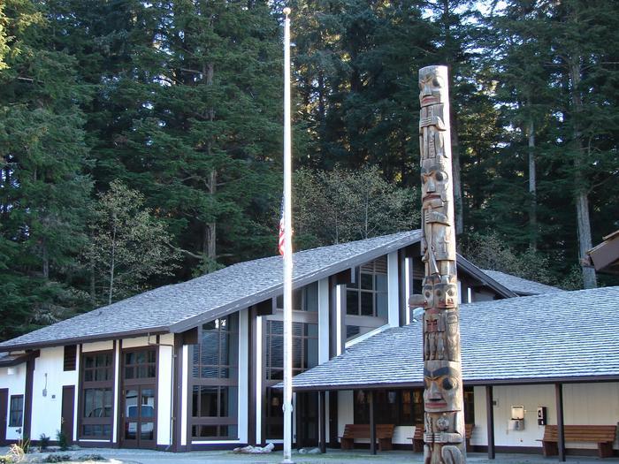 Sitka National Historical Park Visitor CenterSitka National Historical Park Welcomes Visitors Year Round