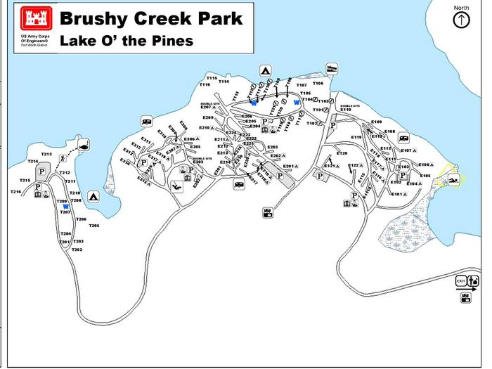 Brushy Creek Map