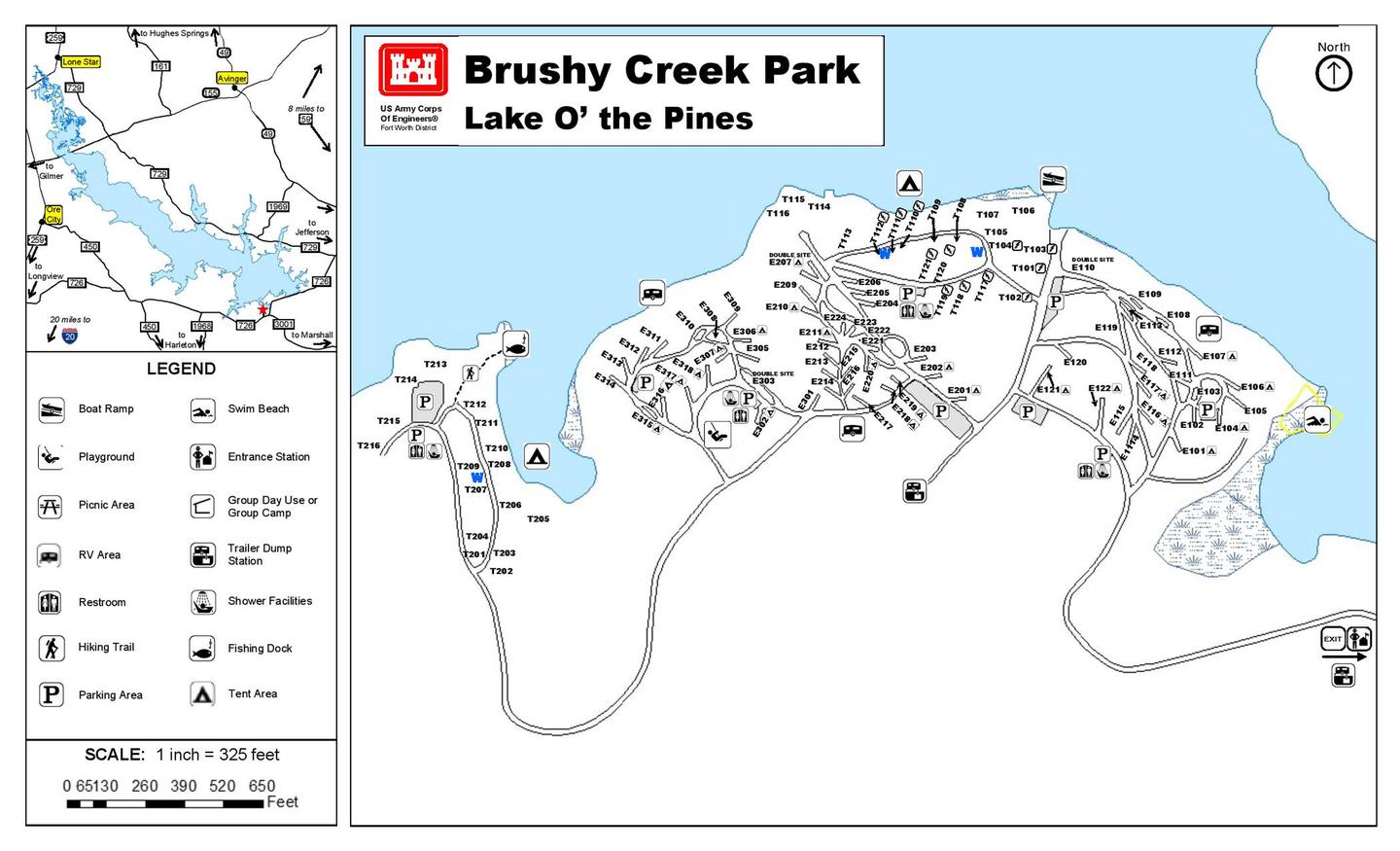 Brushy Creek Full Map