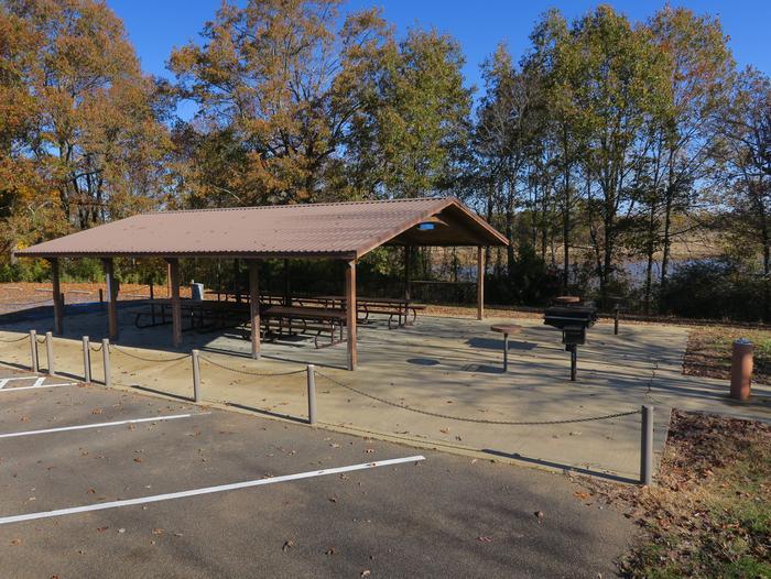 Pavilion 637 - RampWallace Creek Picnic Shelter 637