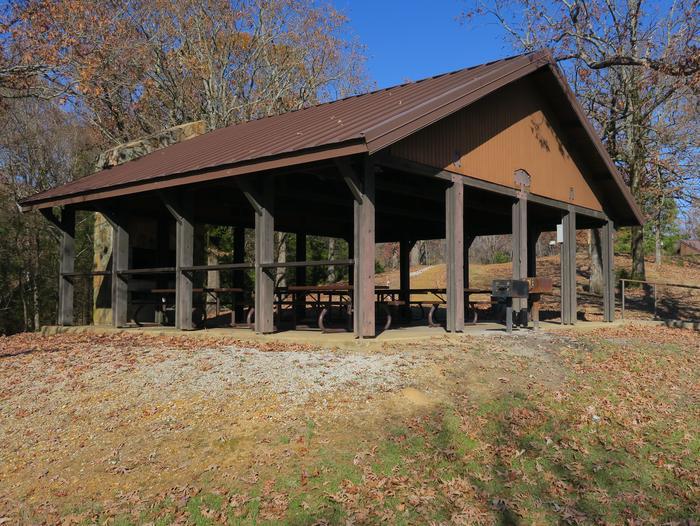 Pavilion 625 (overlook beach)Hickory Ridge Picnic Shelter 625