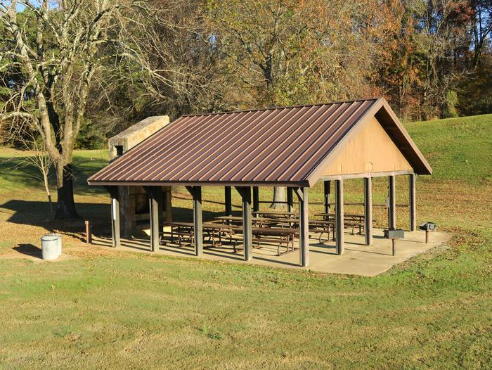Pavilion 597 (near Handicap Fishing Pier)Outlet Channel Picnic Shelter 597