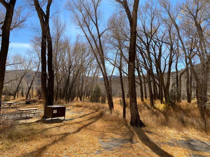 Dry Gulch Campground Sites