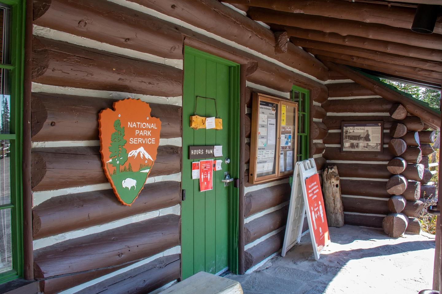 Information Center 3The 1937 log cabin serves as the information center and park store for Cedar Breaks National Monument.