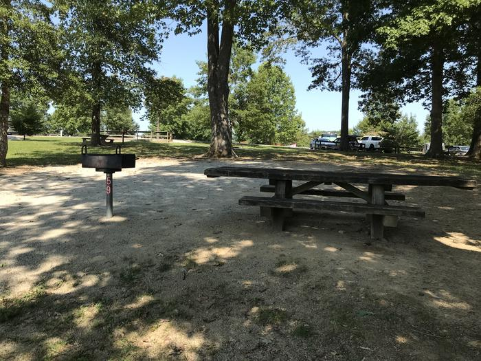 WILLOW GROVE CAMPGROUND SITE #59 SITE AMENITIES: TABLE, PEDESTAL GRILL, GRAVEL TENT PADWILLOW GROVE CAMPGROUND SITE #59