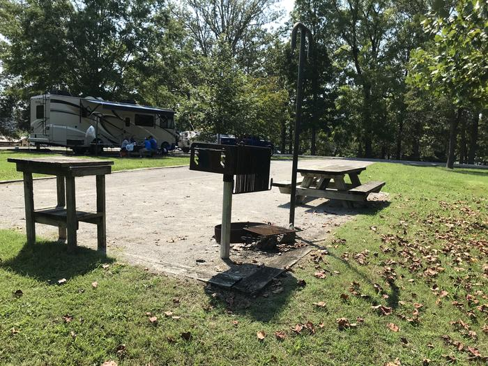 WILLOW GROVE CAMPGROUND SITE #83 SITE AMENITIES: GRILL, LANTERN HANGER AND TABLE.  UTILITY TABLE NOT GUARANTEEDWILLOW GROVE CAMPGROUND SITE #83