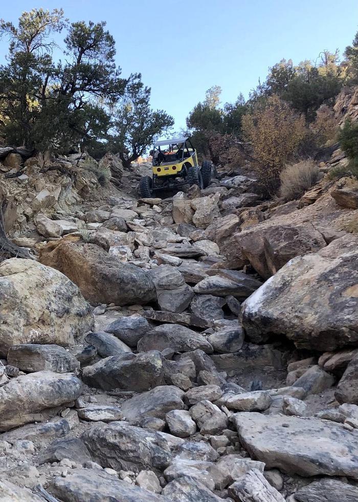 Coyote Canyon terrainCoyote Canyon