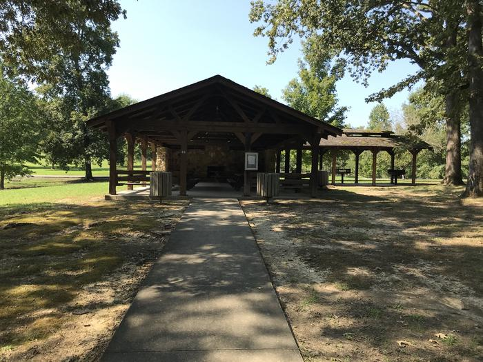 WILLOW GROVE PICNIC SHELTER WITH ACCESS SIDE WALKWILLOW GROVE PICNIC SHELTER