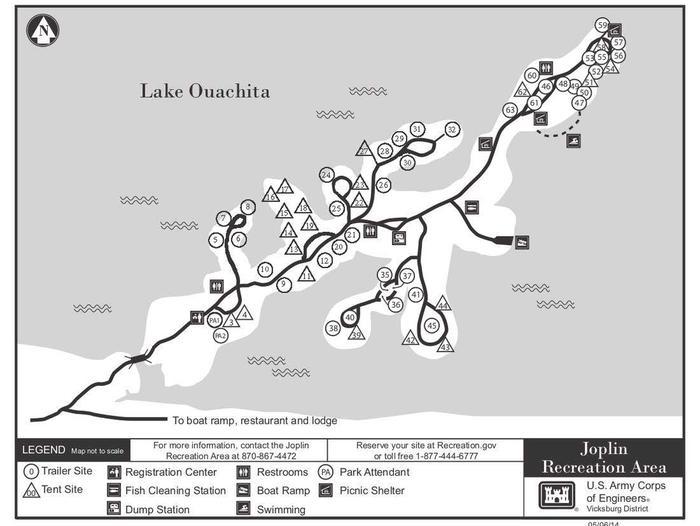 Joplin Redesign Campground Map