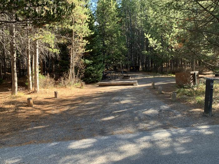 Campsite #58Parking Pad