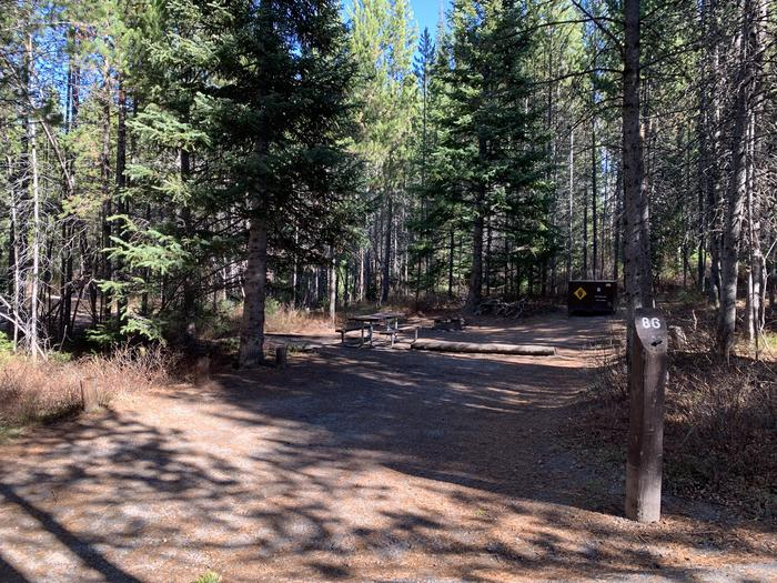 Campsite #86Parking Pad