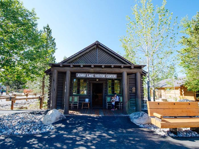 Jenny Lake Visitor CenterThe Jenny Lake Visitor Center makes its home inside the historic Harrison Crandall Studio. The original building was built in the 1920's, and recent renovations were completed in 2019. Stop in to chat with a ranger, visit the Grand Teton Association store, or learn about the history of art in conservation and the National Park Service.