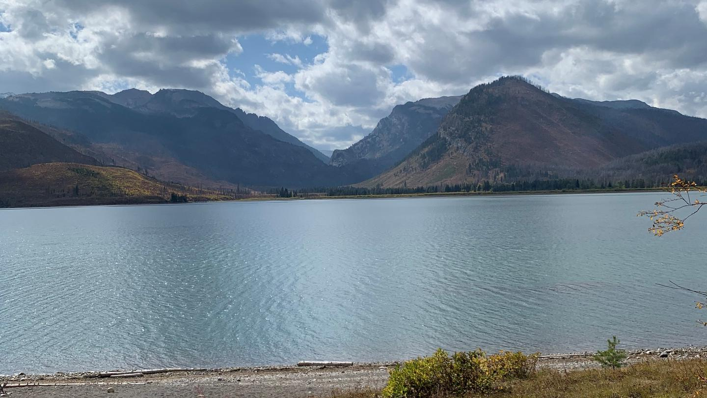 Mid SeptemberView from the shores of Lizard Creek Campground