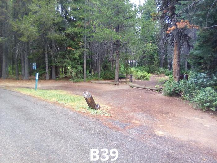 B Loop Site 39