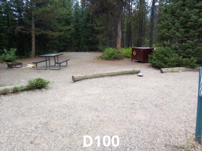 D loop Site 100