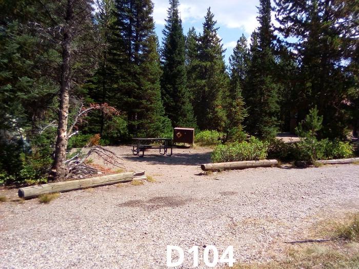 D Loop Site 104