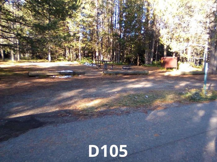 D Loop Site 105