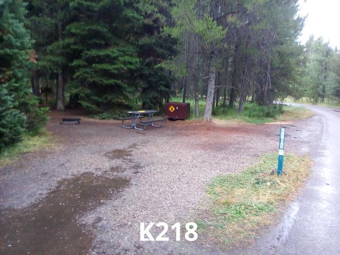 K Loop Site 218