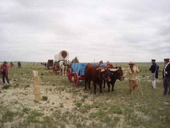 Bent's Old Fort National Historic Site, La Junta, ColoradoAfter spending weeks crossing hundreds of miles of lonely and desolate prairie, a trading post appeared: a welcome respite where travelers could repair their wagon and trade for coffee, sugar, blankets, and ammunition.