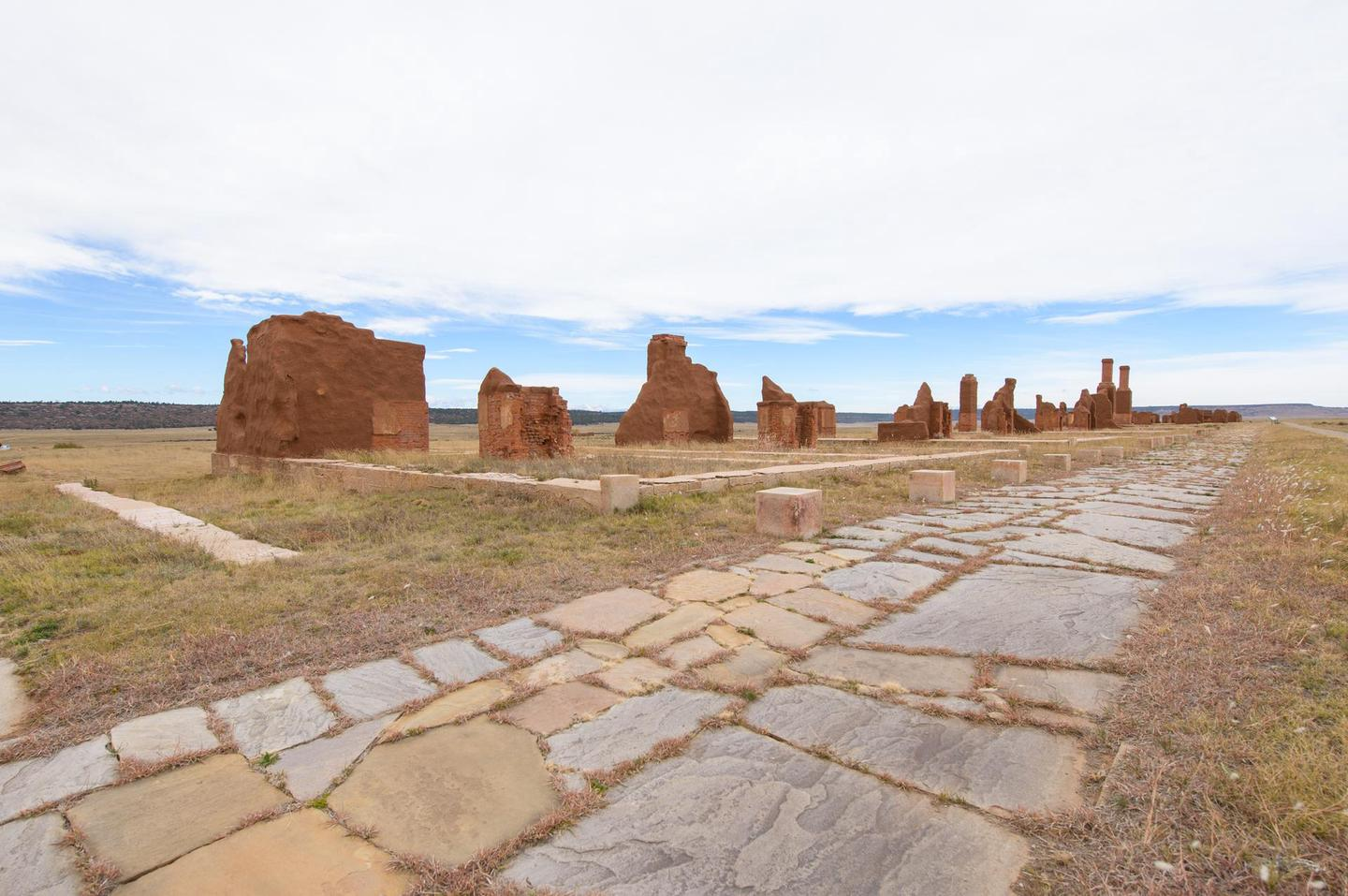 Fort Union, New MexicoThe Santa Fe Trail traverses through Fort Union.
