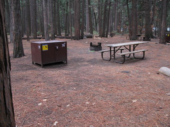 CampsiteCampsite 78