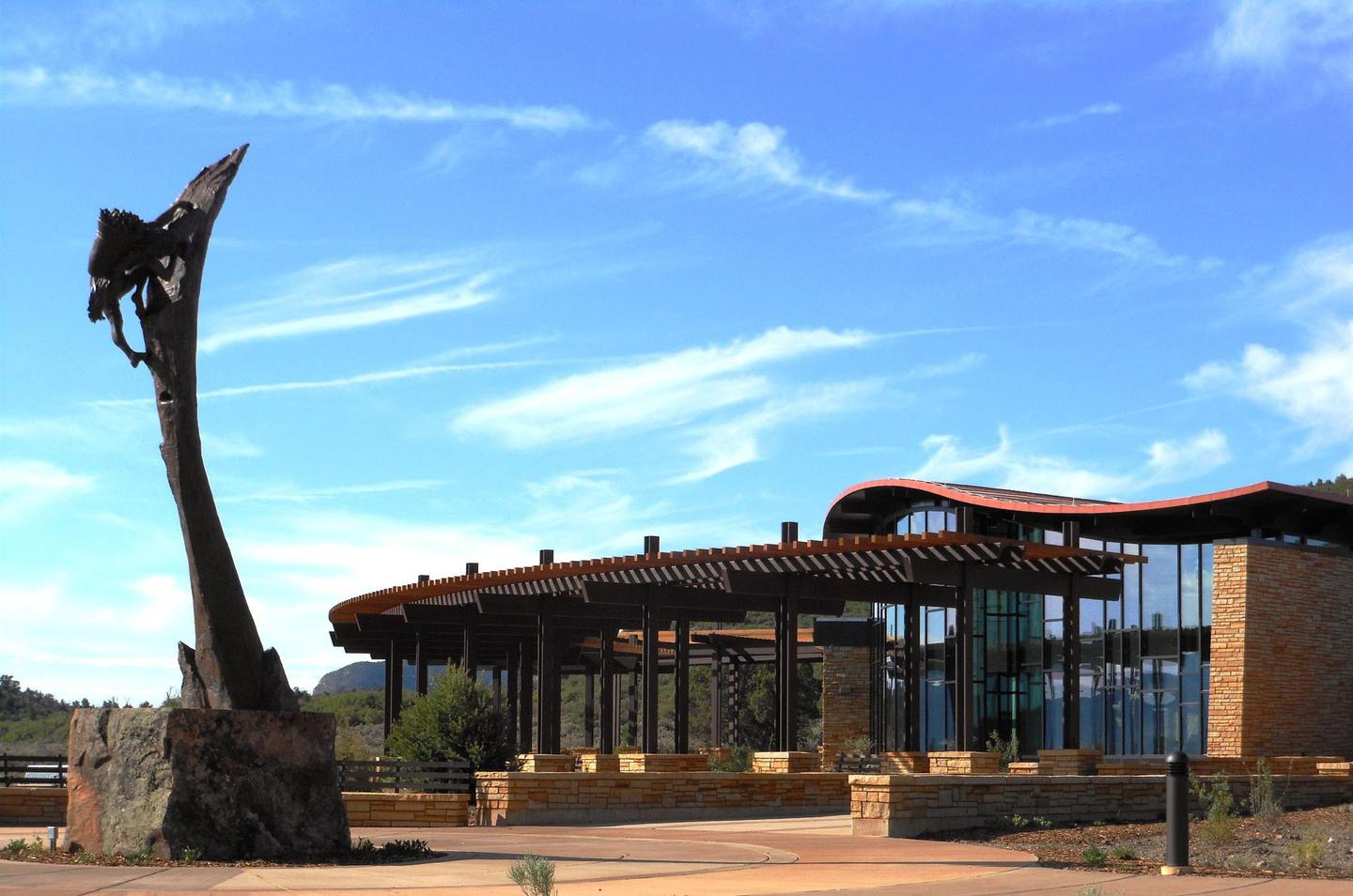 Mesa Verde Visitor and Research CenterMesa Verde Visitor and Research Center's Welcome Plaza