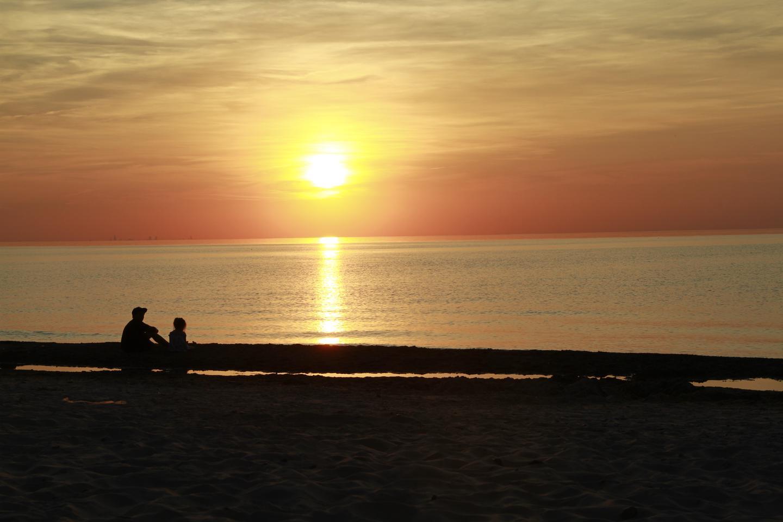 Sunset at Lake View