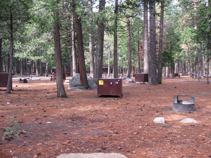 CampsiteCampsite 122