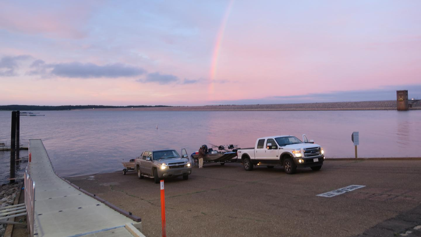 McCurdy Point Boat Ramp and Courtesy DockMcCurdy Point Recreation Area