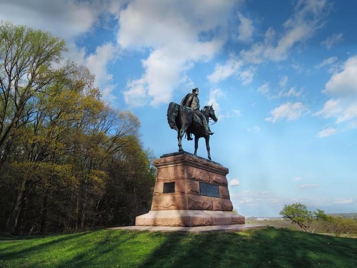 Wayne StatueThe Anthony Wayne Statue at Valley Forge.