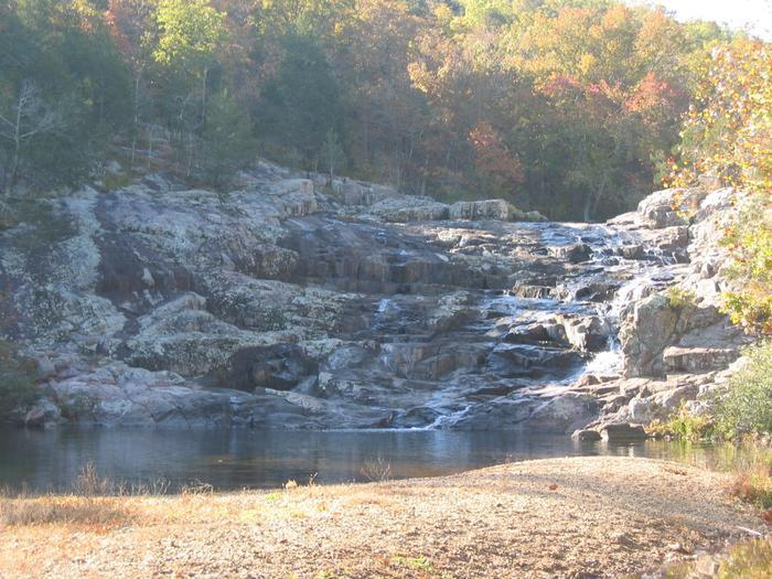 Rocky FallsRocky Falls is a popular picnic area and swimming hole located near the center of Ozark National Scenic Riverways.