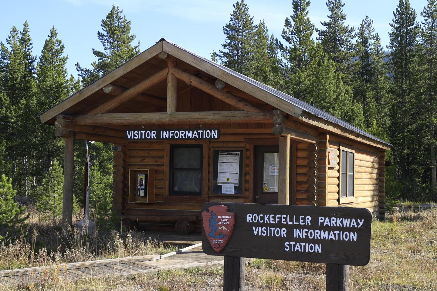 Preview photo of Flagg Ranch Information Station