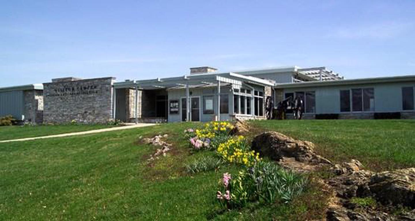 Antietam National Battlefield Visitor CenterThe visitor center was opened in 1963 and should be your first stop when you reach the park.