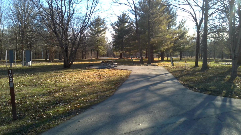 Site 103 Driveway