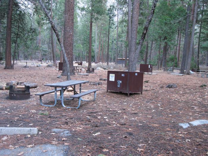CampsiteCampsite 165