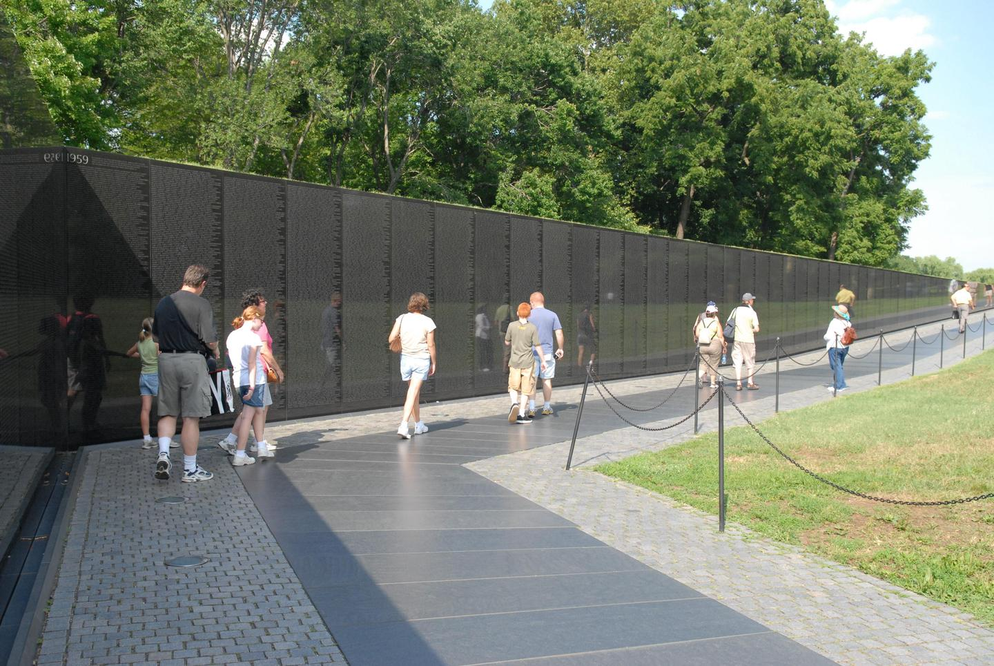 Vietnam Veterans MemorialThe Vietnam Veterans Memorial is a space to contemplate the cost of war.