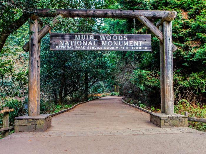 Muir Woods EntranceEntrance Gate to Muir Woods
