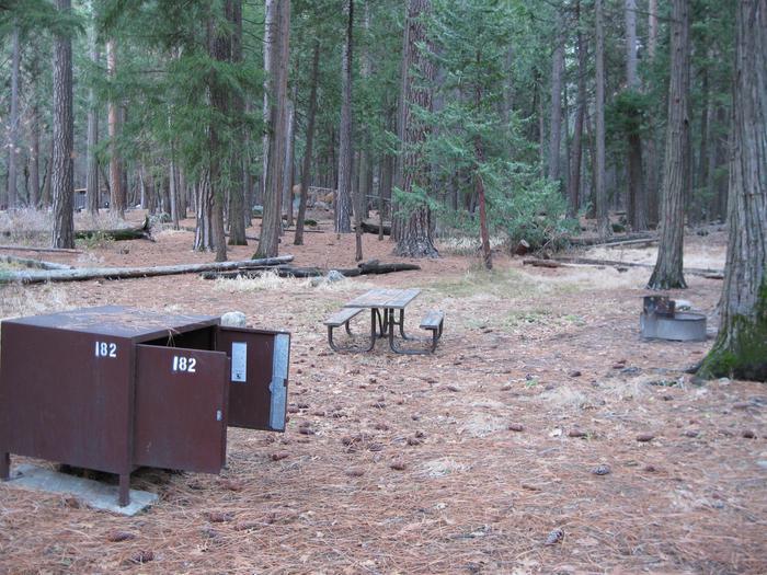 CampsiteCampsite 182